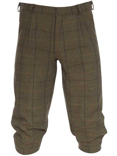 Alan Paine - Rutland Tweed Breeks - Dark Moss