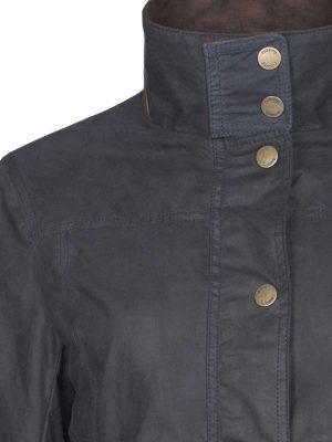 DUBARRY Ladies Mountrath Wax Jacket - Navy