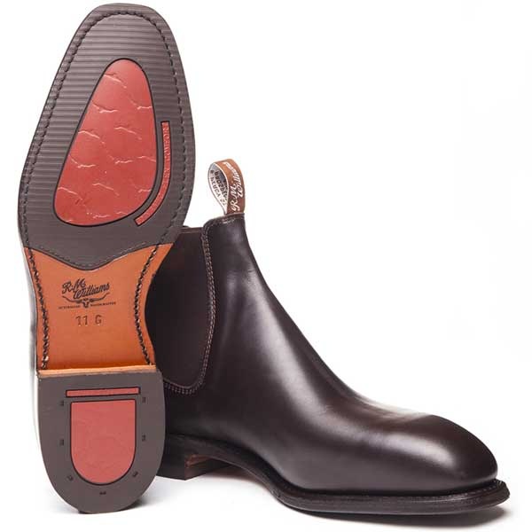 RM Williams Dynamic Flex Comfort Craftsman Boots - Chestnut