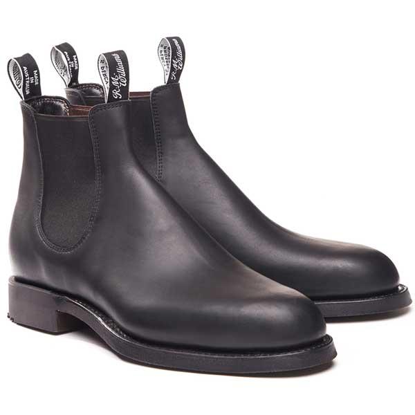 RM Williams Gardener (Yard) Boots - Black