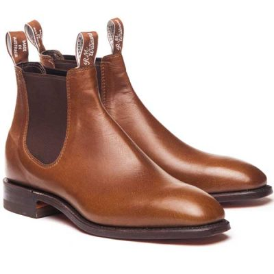 RM Williams - Comfort Kangaroo Craftsman Boots - Tanbark