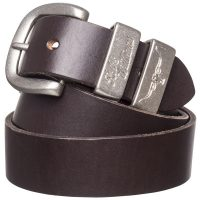 "RM Williams - Leather Belt 1.5"" 3 Piece Solid Hide"