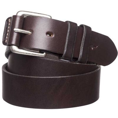 "RM Williams - 1.5"" Leather Covered Buckle Belt"