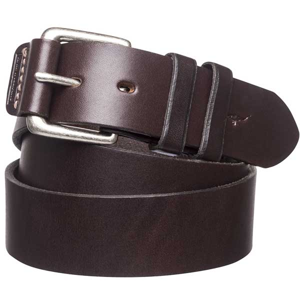 """RM Williams - 1.5"""" Leather Covered Buckle Belt"""