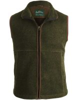 Alan Paine - Aylsham Gents Fleece Waistcoat - Green