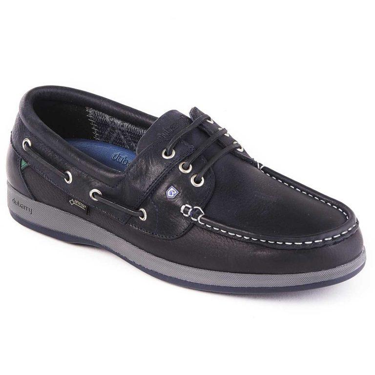 DUBARRY Deck Shoes - Men's Mariner Gore-Tex - Navy