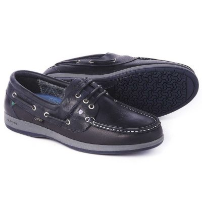 DUBARRY Deck Shoes - Men's Mariner Gore-Tex - Navy