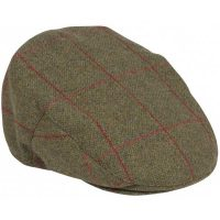 Alan Paine - Compton Cap - Sage Green Tweed