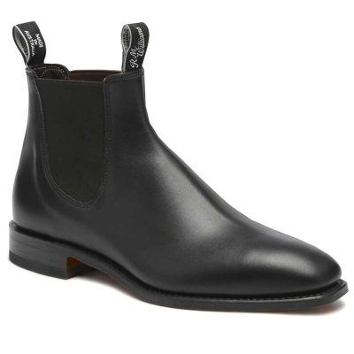 RM WILLIAMS Boots - Ladies Classic Adelaide - Black