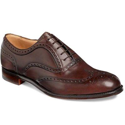 Cheaney - Arthur III Brogue Shoes Mocha
