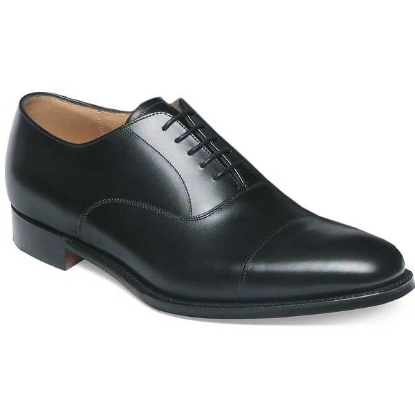 Cheaney - Lime R Dainite Sole Oxford Shoes - Black Calf