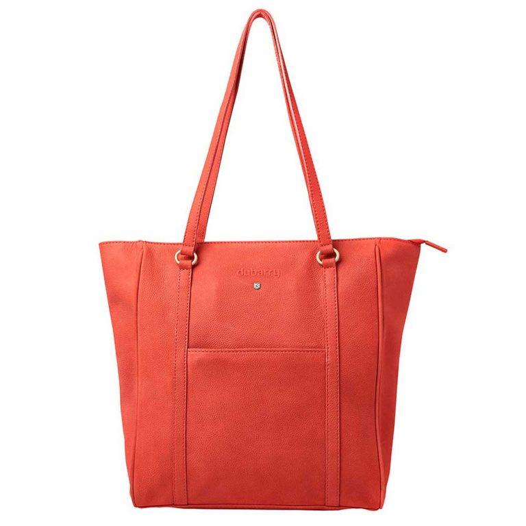 DUBARRY Tote Bag - Ladies Arcadia Leather - Coral