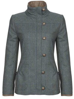 DUBARRY Bracken Ladies Tweed Jacket - Mist