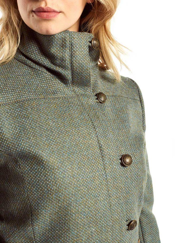DUBARRY Bracken Ladies Tweed Jacket - Mist
