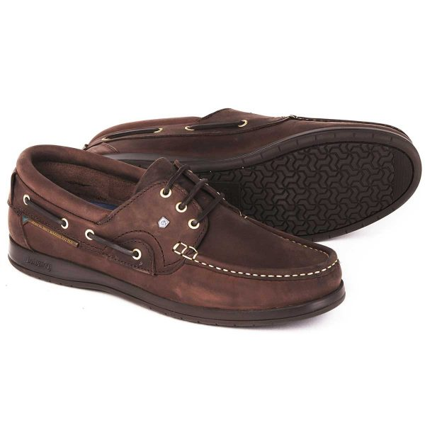 DUBARRY Deck Shoes - Men's Commodore X LT - Old Rum