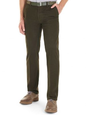 GURTEEN Chinos - Longford Winter Stretch Cotton – Bracken