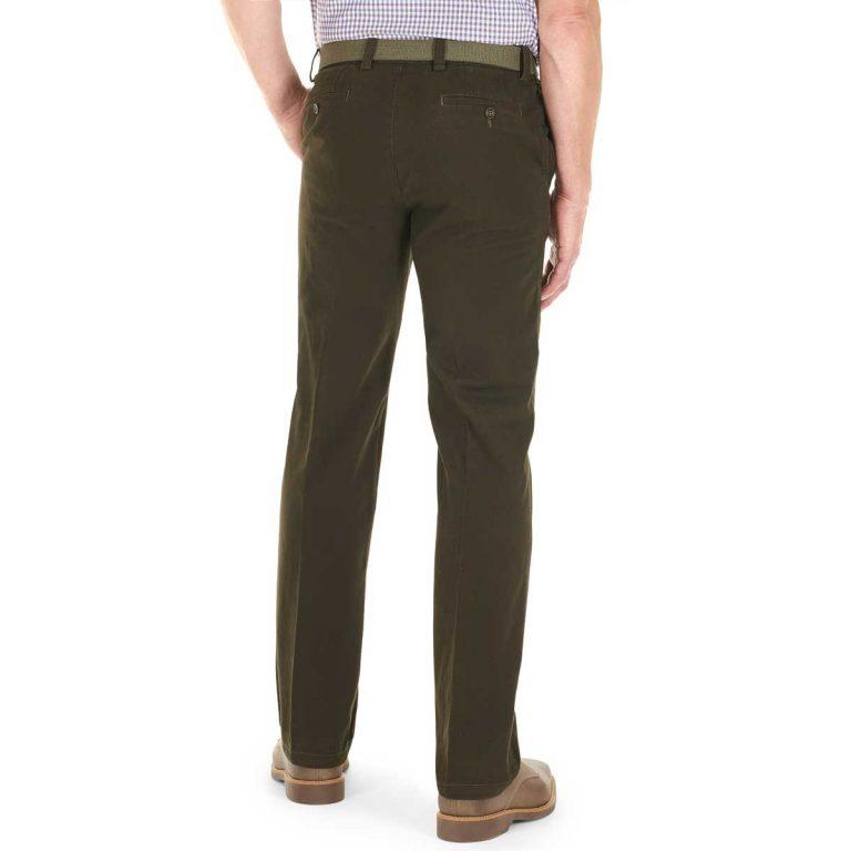 Gurteen Trousers – Longford Winter Stretch Chinos – Bracken