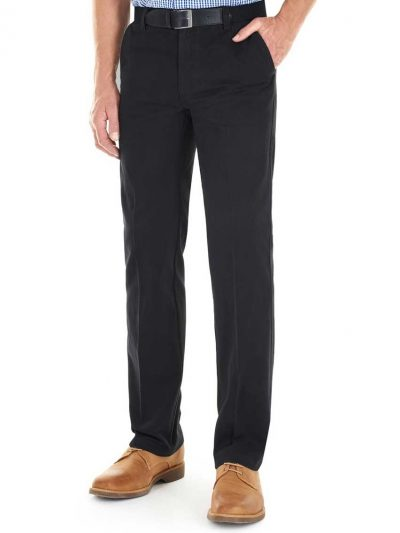 GURTEEN Chinos - Longford Winter Stretch Cotton – Navy