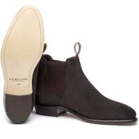RM Williams - Ladies Adelaide Boots - Chocolate Brown Suede
