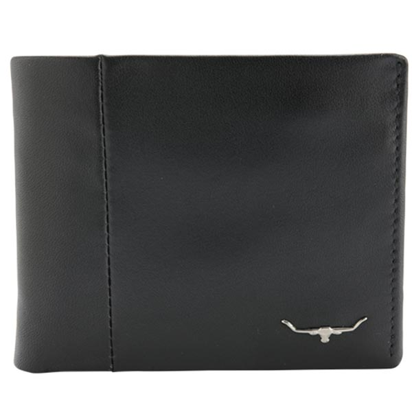 RM Williams - Leather Wallet with Coin Pocket - Black