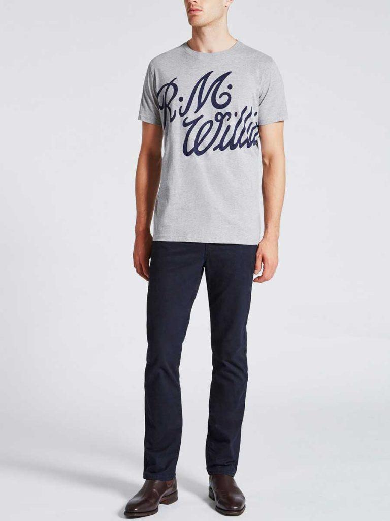 RM WILLIAMS T-Shirt - Tama - Grey