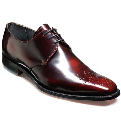 Barker Shoes - Darlington - Derby Style - Brandy Hi-Shine
