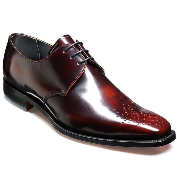Barker Shoes - Darlington - Derby Style - Brandy Hi-Shine