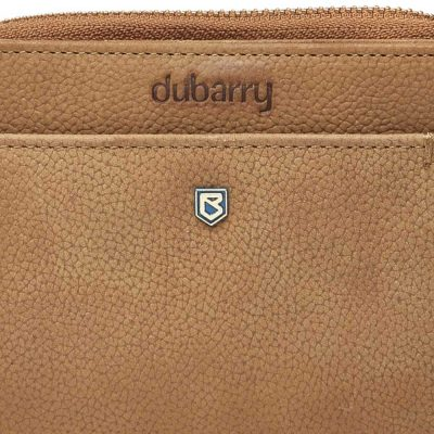DUBARRY Portrush Leather Purse - Tan