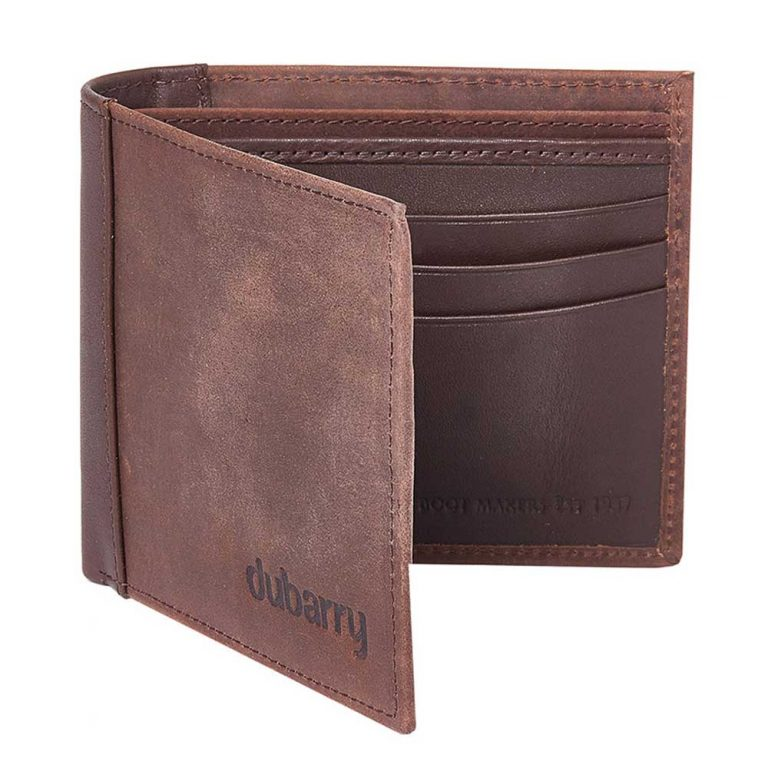 DUBARRY Rosmuc Leather Mens Wallet - Old Rum