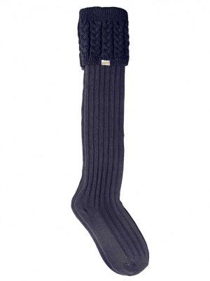 DUBARRY Trinity Luxury Knitted Boot Socks - Navy