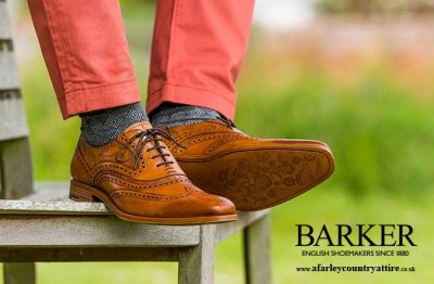Get The Look: Barker Shoes Mcclean Cedar Calf & Paisley Laser