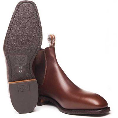 RM Williams - Comfort Craftsman Boots - Dark Tan