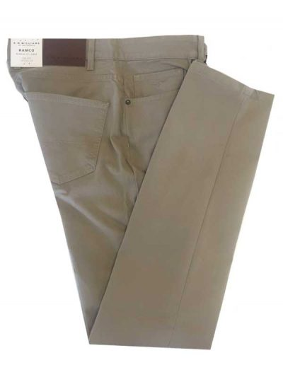 RM Williams - Ramco Drill Jeans Buckskin - Regular Fit