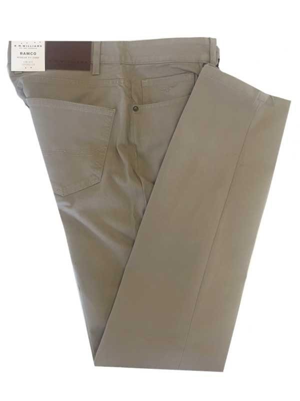 RM Williams - Ramco Drill Jeans Buckskin - Regular Fit