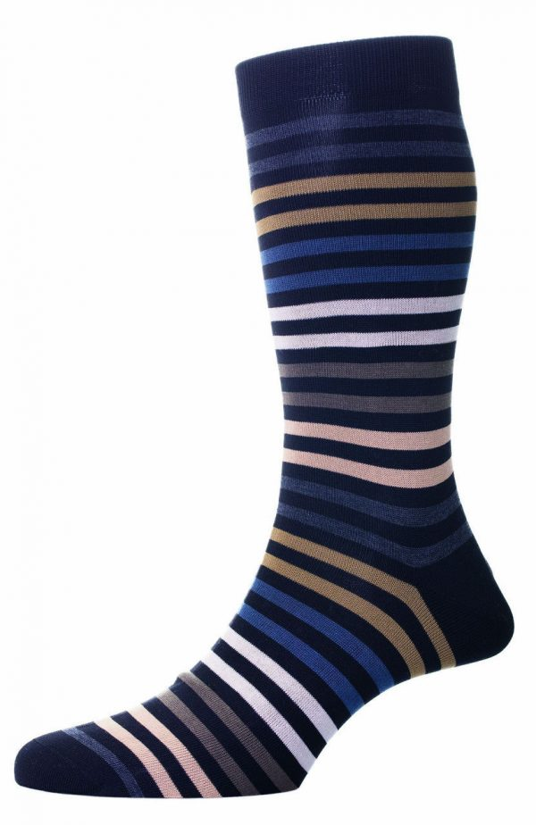 Pantherella-Kilburn-stripey-socks-Black