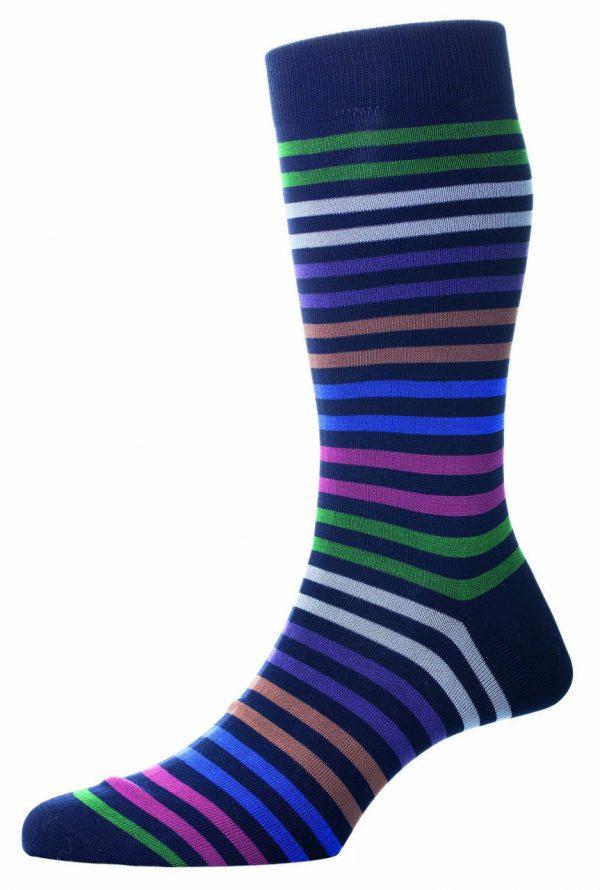 Pantherella-Kilburn-stripey-socks-Navy