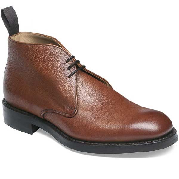Cheaney - Jackie III R Chukka Boot - Mahogany Grain Leather