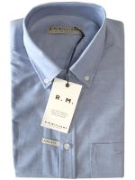 RM Williams - Collins Shirt - Blue Button Down