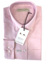 RM Williams - Collins Shirt - Pink Button Down