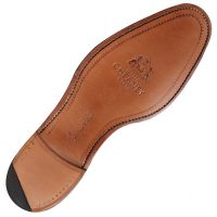 Goodyear welted leather sole & quarter rubber tip
