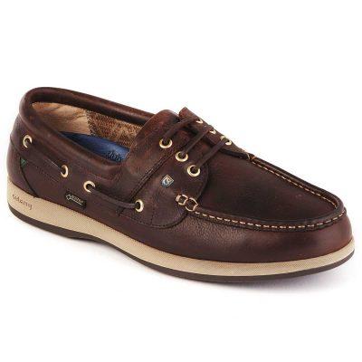 DUBARRY Deck Shoes - Men's Mariner Gore-Tex - Mahogany