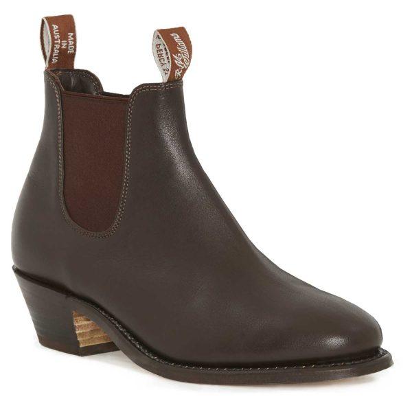 RM WILLIAMS Boots - Ladies Adelaide High Heel - Chestnut