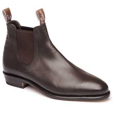 RM WILLIAMS Boots - Ladies Kangaroo Adelaide - Chestnut