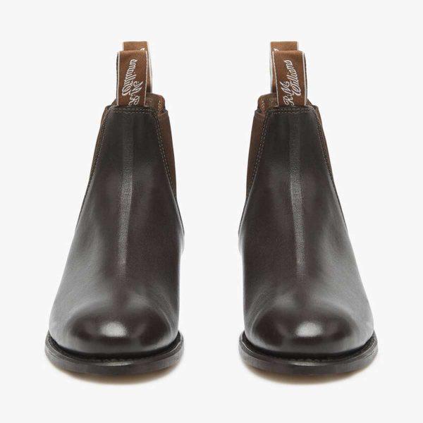 RM WILLIAMS Boots - Ladies Kangaroo Adelaide - Chestnut