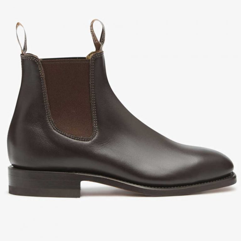 RM WILLIAMS Boots - Men's Dynamic Flex Comfort Craftsman - Chestnut