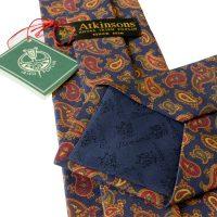 atkinsons-ties-navy-and-gold-paisley-irish-poplin-print-tie-back-view