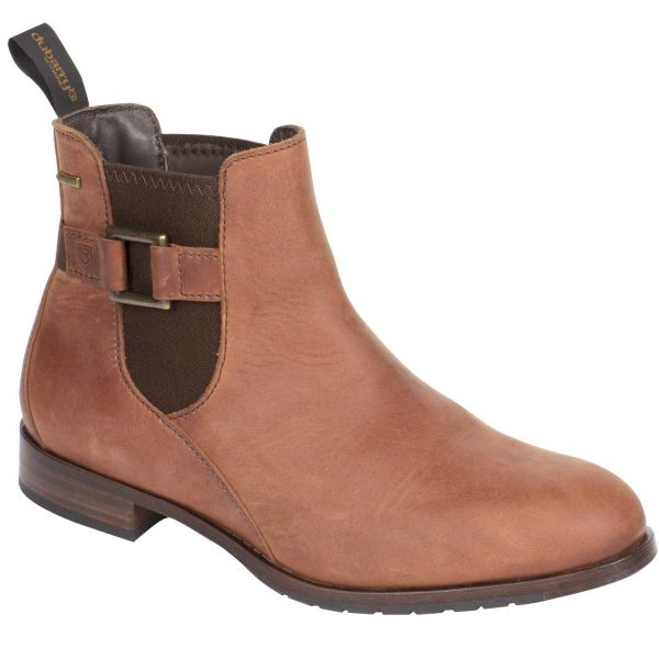 Dubarry Ladies Monaghan Chelsea Boots Chestnut