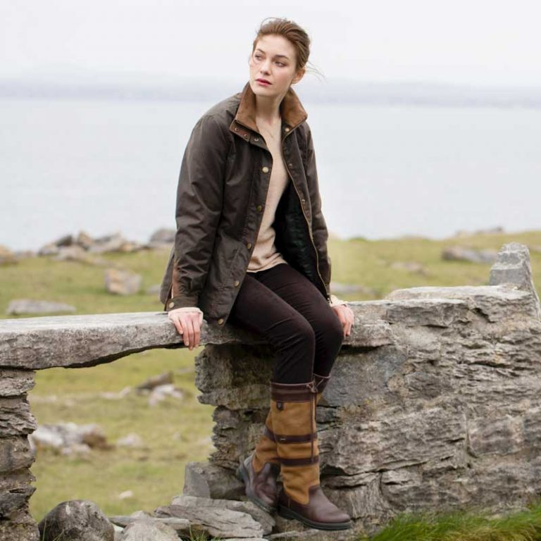 Dubarry Ladies Mountrath Wax Jacket