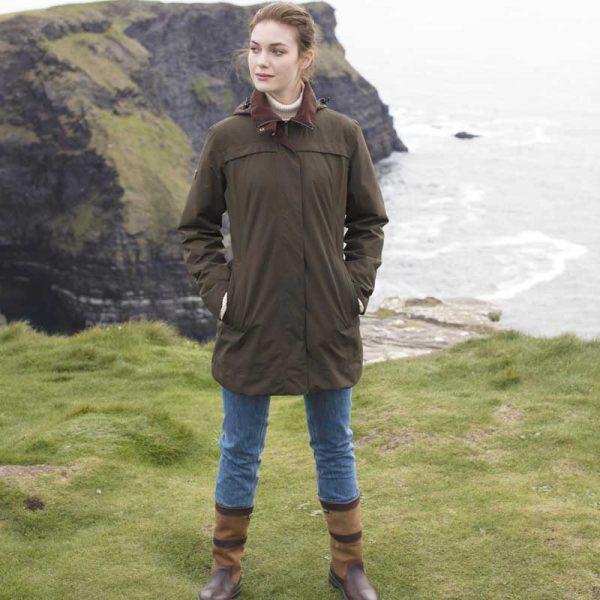 Dubarry Leopardstown Ladies Waterproof Coat