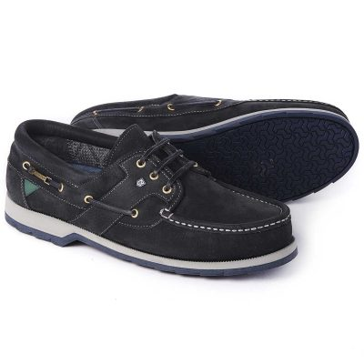 DUBARRY Deck Shoes - Men's Clipper Gore-Tex - Navy